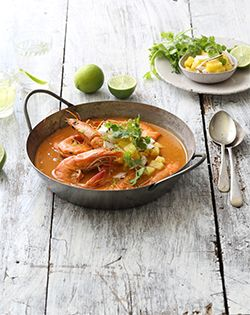 Thai red curry with prawns - Check our Recipe Board and check what others are preparing for the upcoming Easter Holidays