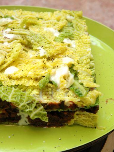 Recette Lasagnes de chou vert frisé *****