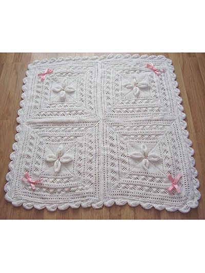 Free Knitting Pattern For Leaf Baby Blanket : 23 best Patterns images on Pinterest
