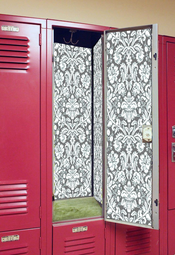 Your locker is your space at school, why not dress it up