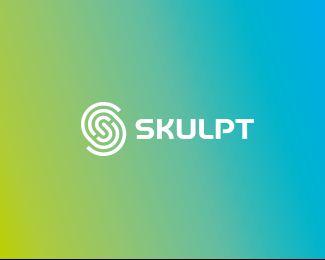 Skulpt Logo Inspiration Gallery | More logos http://blog.logoswish.com/category/logo-inspiration-gallery/ #logo #design #inspiration