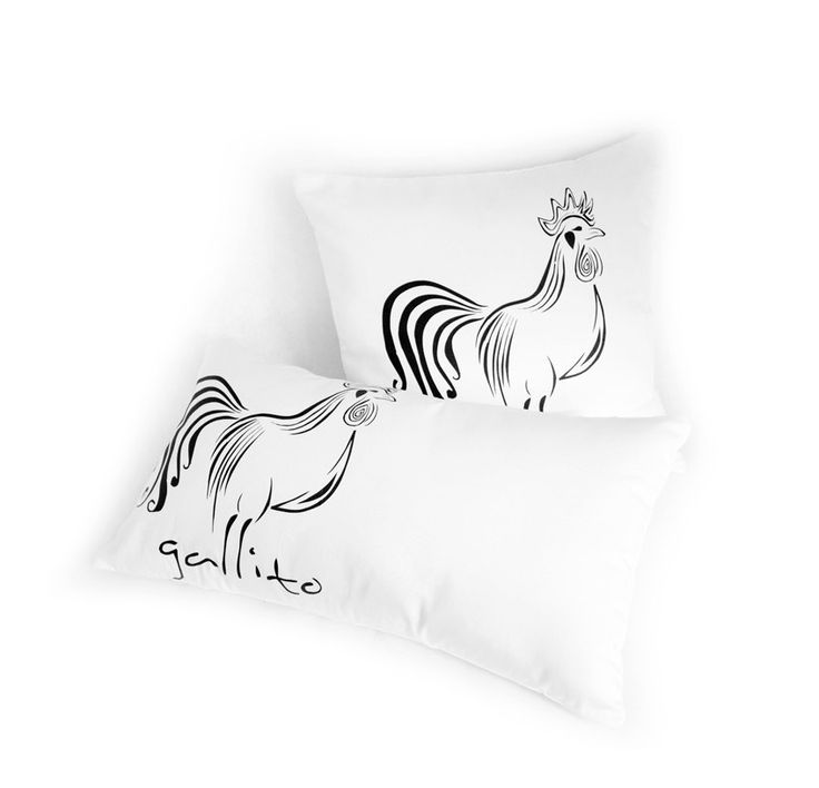 Pillow gallito, home, decorative by ADRIANAMATEUS on Etsy