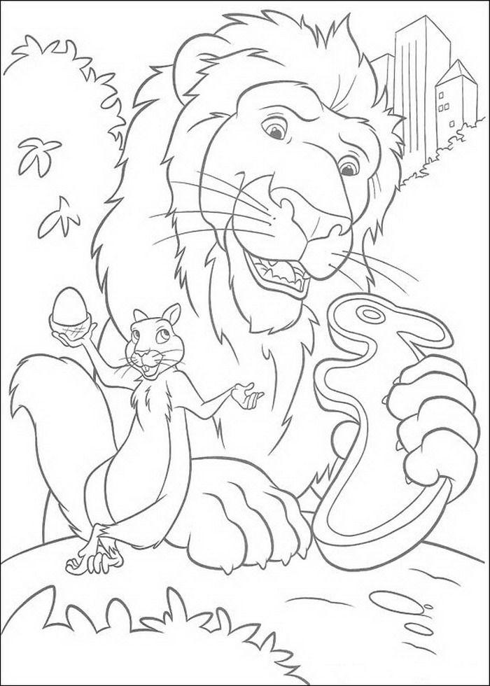 Samson En Benny Met Snack Kleurplaat