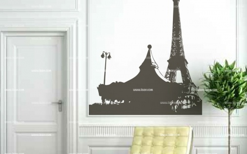 10 best stickers paris images on pinterest wall decals wall decal and vinyl wall stickers. Black Bedroom Furniture Sets. Home Design Ideas