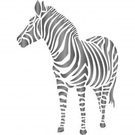 Bring a little Africa to your home with Stencils for Walls' Zebra Stencil. Use it as part of a mural or to create DIY wall art. Stencilling is a quick, easy and cost effective way to accessorize any flat surface of your choice. We provide high quality stencils in various creative designs.
