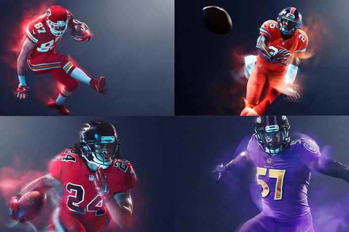 Are the Color Rush NFL jerseys fire or trash?