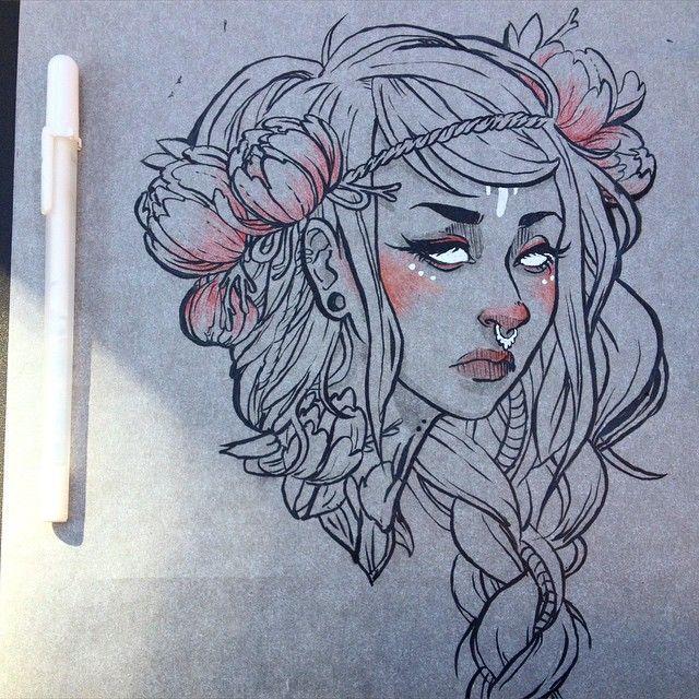 more stuff  #illustration #artistsonig #sketchbook