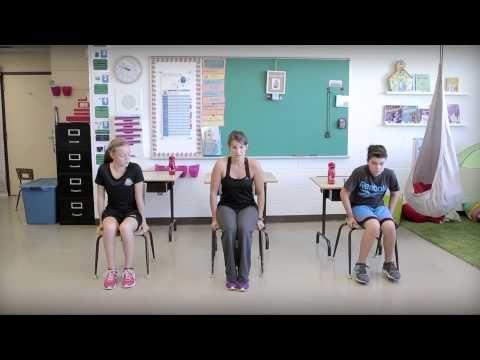Bouge en classe avec Jeunes en santé #9 - YouTube
