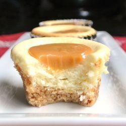 Caramel Cheesecake Bites by momwhatsfordinner