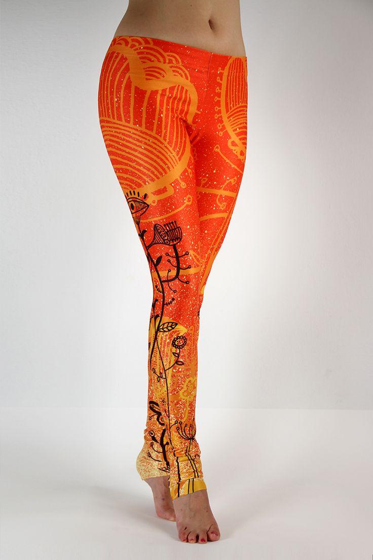 Zapraszamy na www.labelsshop.pl #FRIFRU #orange #leggins