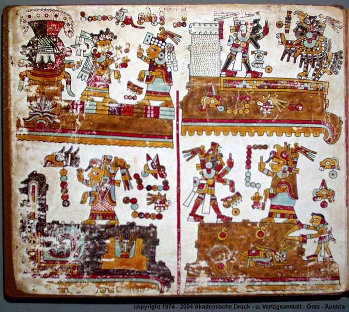 Codex Vindobonensis Mexicanus 1: Ancient Mesoamerica