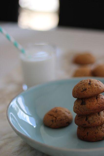 Cookies au beurre de cacahuètes et chocolat {Thermomix}
