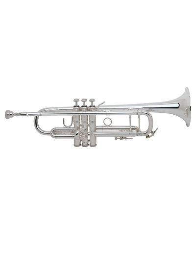 Bach LT180S37 Stradivarius Lightweight Professional Trumpet- Silver from Bach at Beacock Music