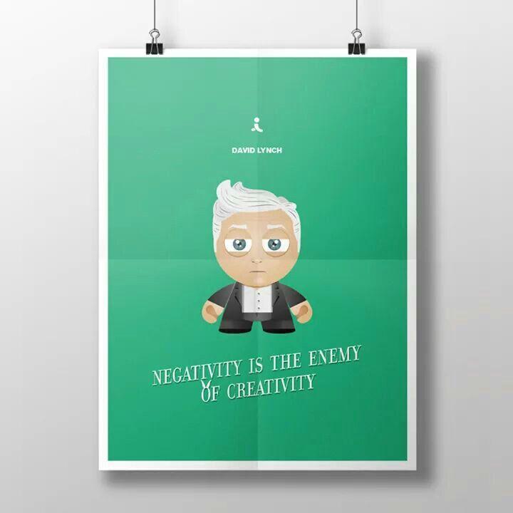 La negatividad es el enemigo de la creatividad