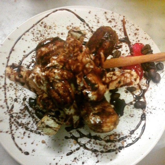 Tiramisù di miscela arabica con cioccolato svizzero