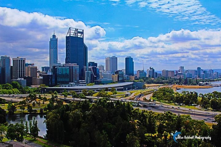 Stunning views from #KingsPark #Perth