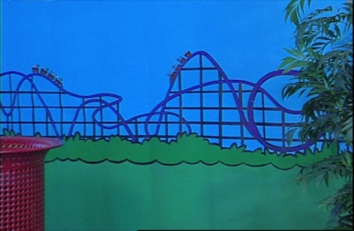 Coaster backdrop