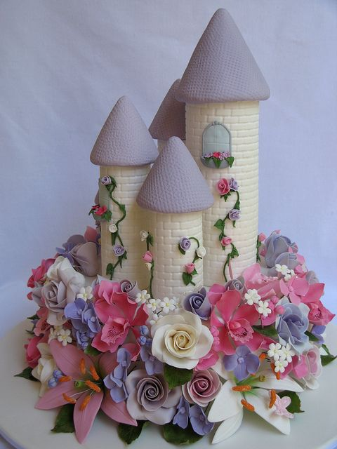 Enchanted Castle Cake by Creative Cakes by Julie