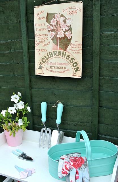 Garden seed sign, via Flickr.