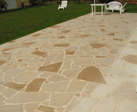 23 best Sols extérieurs en pierre naturelle de Bourgogne images on - plaque de beton pour sol exterieur