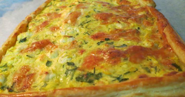 Μία νόστιμη και πολύ απλή τάρτα, πίτσα!  Έχει λίγα υλικά γιατί γίνεται σαν πίτσα, αλλιώς θα μαλακώσει, αν έχει πολύ γέμιση.     Υλικά:...