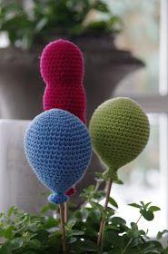 Halager: DIY - Hæklede balloner