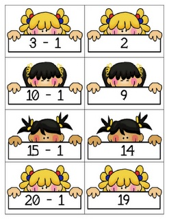 1 More and 1 LessThe Letter, Schools Math, Math Resources, Math Ideas, Addition Math, Addition Subtraction, Concentration Games, 1St Grade, Wond Games