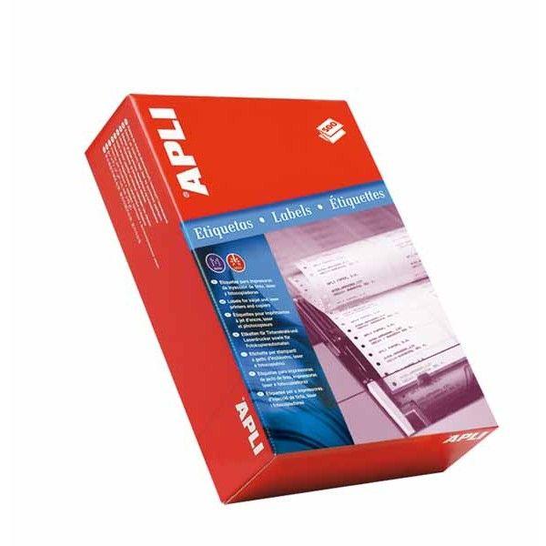 Comprar Etiquetas impresoras matriciales en papel continuo 73,7 x 23,3 apli 00001 #etiquetas #impresoras #matriciales #papel #continuo