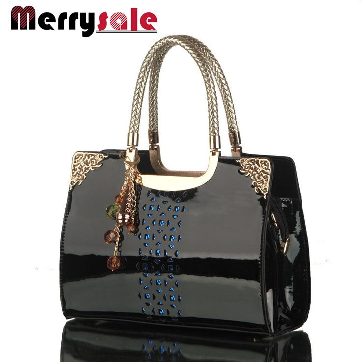Women leather handbags women bag handbag the new brand handbag patent leather handbags Korea fashion single shoulder bag