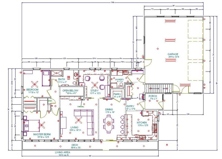 Common sense homesteading house for the home pinterest for How to find blueprints of a house