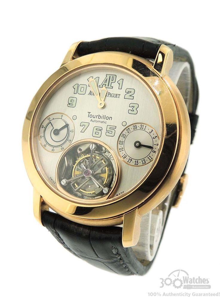 Audemars Piguet's Jules Audemars Tourbillion Chronograph in 18k Rose Gold is a fine watch***