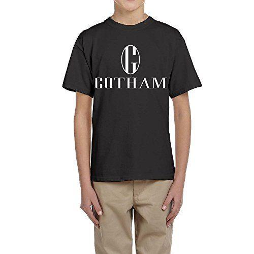 Cool Popular Series Gotham Primary Logo Cool Round Neck T-Shirt Teens Youth @ niftywarehouse.com #NiftyWarehouse #StarTrek #Trekkie #Geek #Nerd #Products