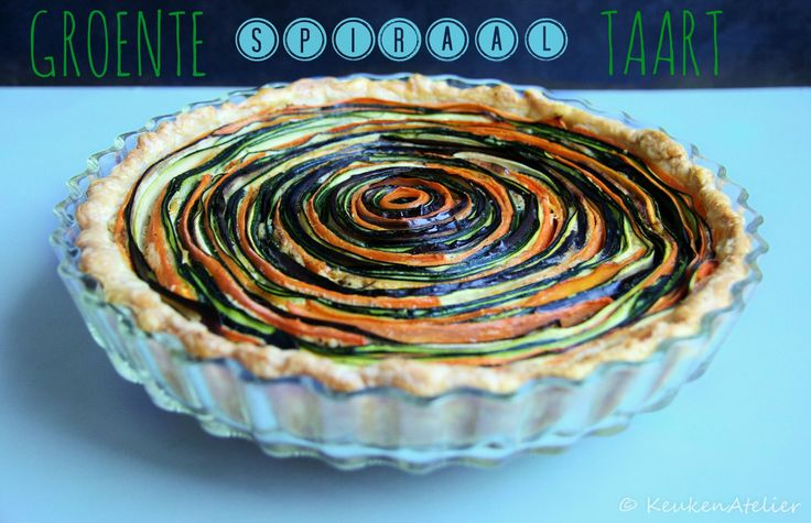 groente spiraal taart