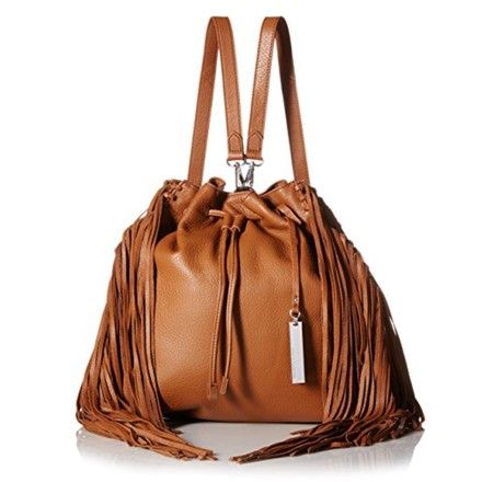 Vince Camuto Camuto Convertible Leather Fringe Backpack | Backpacks on Sale