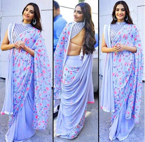 Photos: 40 Sonam Kapoor saree styles that prove she is a fashionista | PINKVILLA