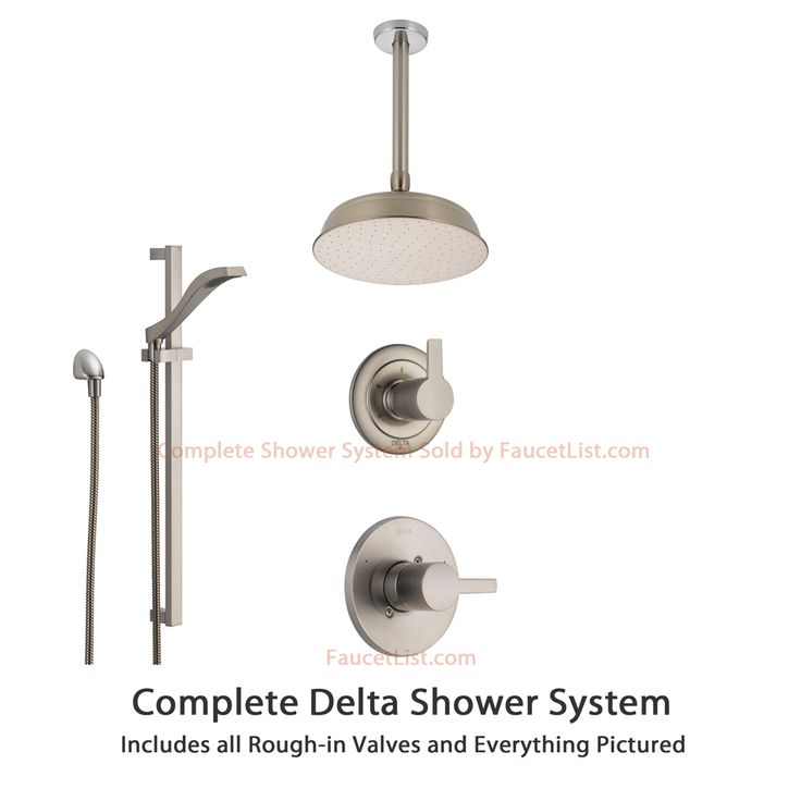 67 Best Images About Shower Systems On Pinterest See More Best Ideas About Chrome Finish Wall