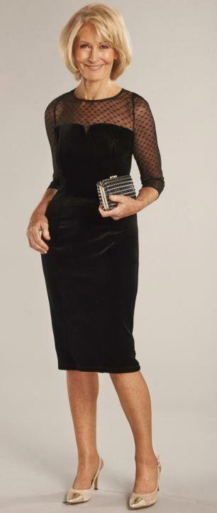 Süße Kleidung für Frauen über 50 | Professionelles Kleid für Frauen über 5…