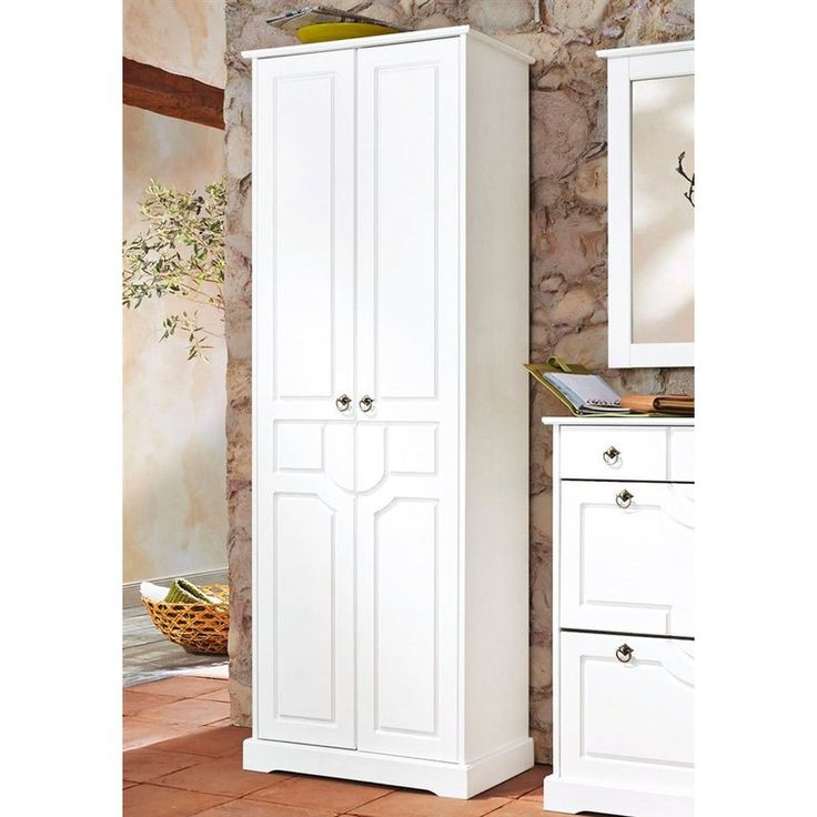 Nice Armoire penderie d uentr e portes Klera pin massif Home Affaire