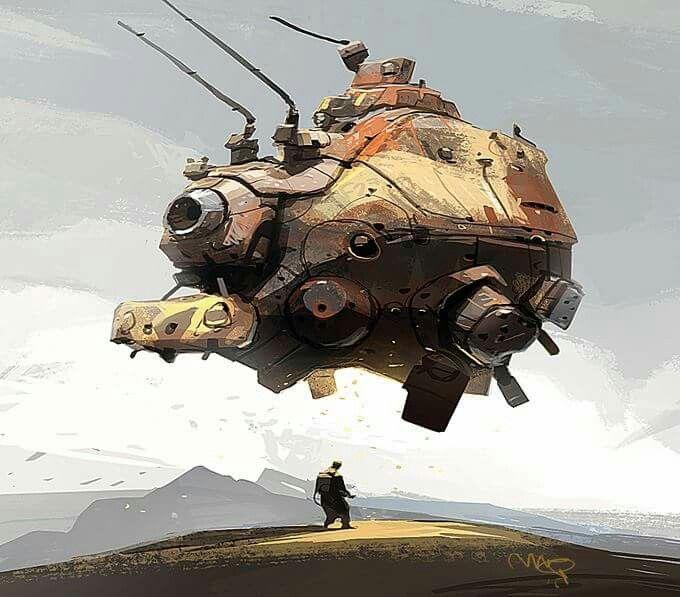 Ian McQue art