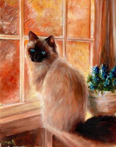 """Birman by the window"" -  Karen Robinson"