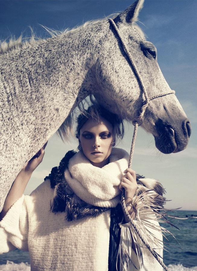 'Fur,' by Signe Vilstrup for VF italia