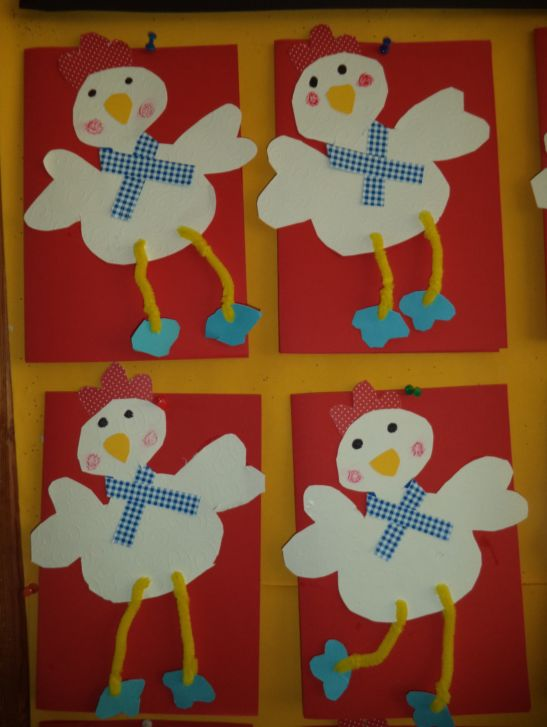 ...Το Νηπιαγωγείο μ' αρέσει πιο πολύ.: Οι σακούλες και οι καρτούλες που έφτιαξαν τα παιδιά.