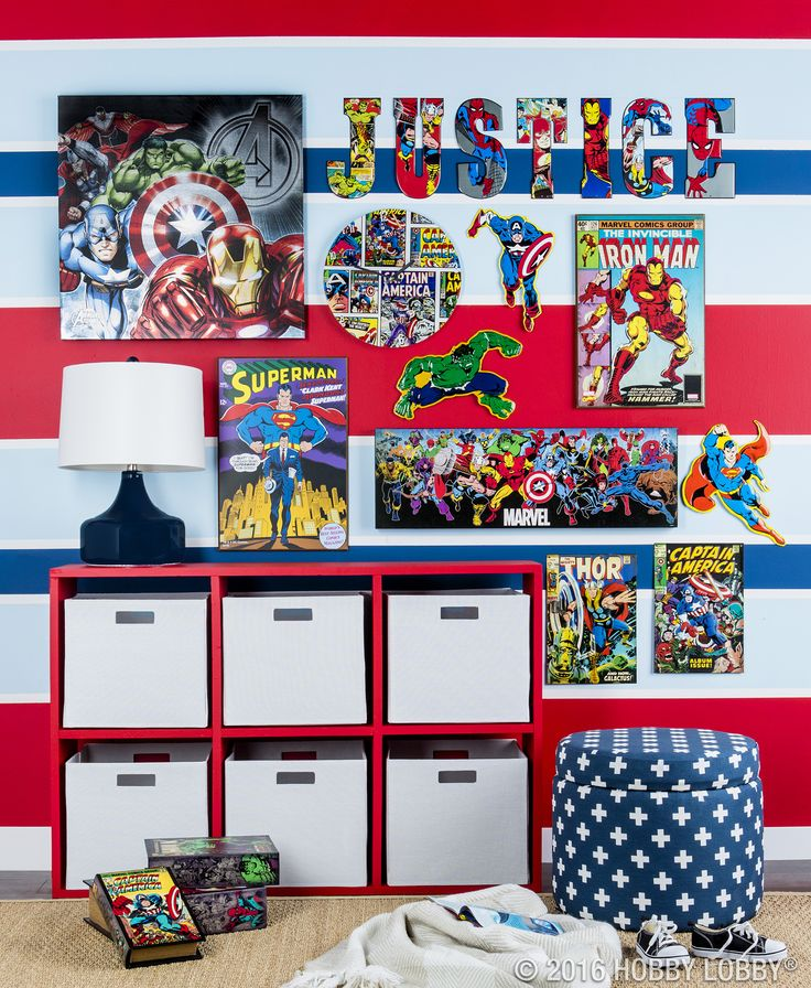 give your little superhero an adventure filled action packed place to hang their cape