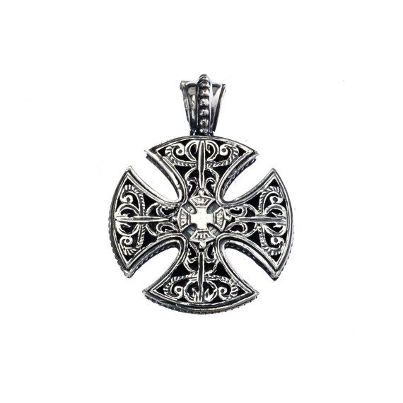 Check out this item in my Etsy shop https://www.etsy.com/listing/126491494/maltez-cross-in-sterling-silver