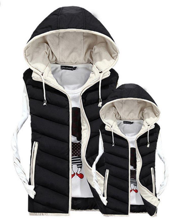 Moderní pánská zimní vesta s kapucí černá – Velikost L Na tento produkt se vztahuje nejen zajímavá sleva, ale také poštovné zdarma! Využij této výhodné nabídky a ušetři na poštovném, stejně jako to udělalo již …