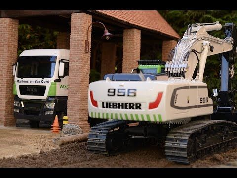 BEST OF RC ! BEST OF RC CRANE LTM 1055! FANTASTIC LIEBHERR EQUIPMENT! COOL SELF MADE RC CRANE TRUCK! - YouTube