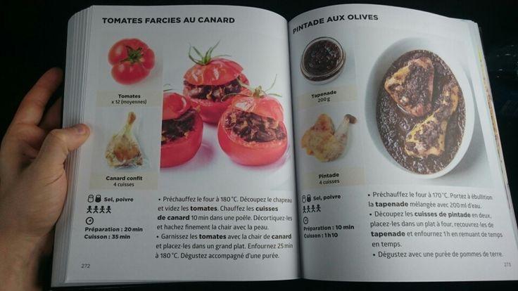 Tomates farcies au canard
