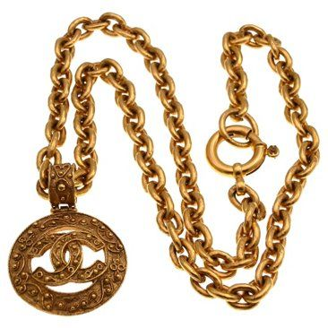 Check out this item at One Kings Lane! Chanel Pendant Necklace