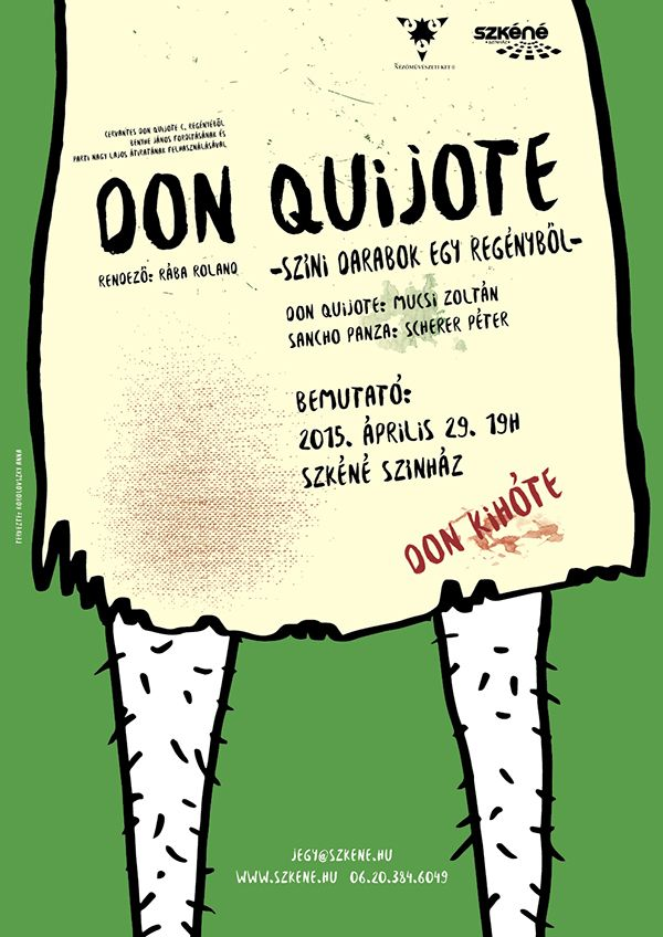 Don Quijote theater poster