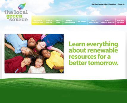Local Green Source Website Design